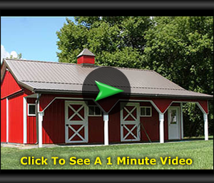 Pole barn vs traditional garage